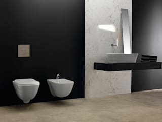 Smile Bath S.A. Industrial style bathroom White