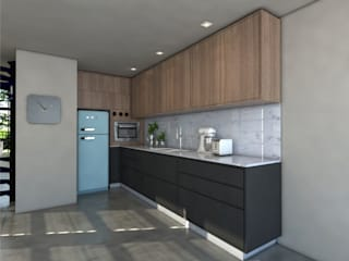Modern Kitchen by Jéssica Bett e Fernando Rebelo | Design de interiores Modern