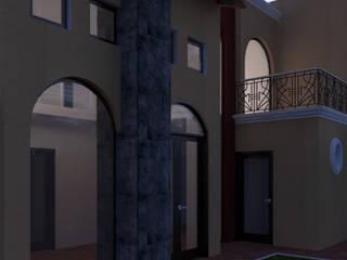 Vivienda R-1 Casas rústicas de Mon Arquitectos Rústico