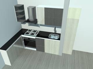 Cocinas integrales, personalizadas a tu gusto : Cocinas integrales de estilo  por Ambiente Records , Minimalista