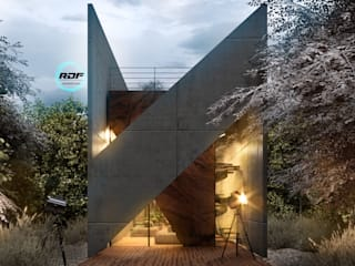 Render DF | Realidad Virtual para Arquitectura Centros comerciales de estilo moderno de Render DF Moderno