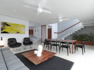 Taller Veinte Minimalist living room