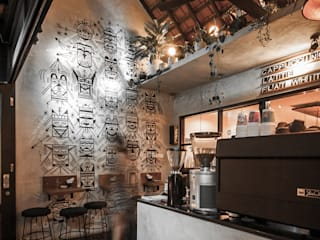 Ritual Coffee & Boutique Seminyak:  Dinding by Studio Tropis