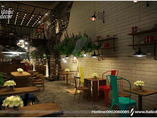 BAR COFFEE:  Hầm rượu by ITALIC DECOR