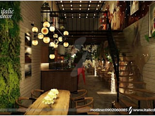 Ruang Penyimpanan Wine by ITALIC DECOR