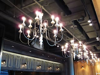 Chandelier:   by ABOON custom lightings