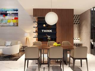 Dự án Galleria:  Phòng ăn by thiết kế kiến trúc CEEB