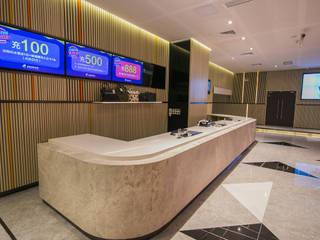 現代極簡風──正佳影城 G.T. DESIGN 大楨室內裝修有限公司 商業空間