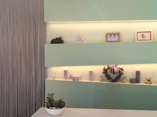 مكاتب ومحلات تنفيذ SPAZIODABITARE architects, حداثي