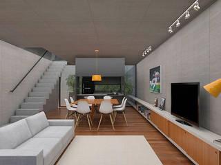Salon de style  par A Pino Arquitetos