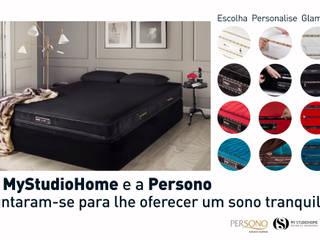 MyStudioHome e a Persono:   por MY STUDIO HOME - Design de Interiores