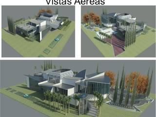 VIVIENDA UNIFAMILIAR DE LUJO ESTUDIO KULUMAK Casas de estilo ecléctico