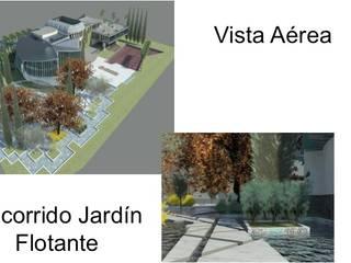 VIVIENDA UNIFAMILIAR DE LUJO ESTUDIO KULUMAK Jardines de estilo ecléctico Azulejos