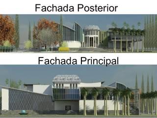 VIVIENDA UNIFAMILIAR DE LUJO Casas de estilo ecléctico de ESTUDIO KULUMAK Ecléctico