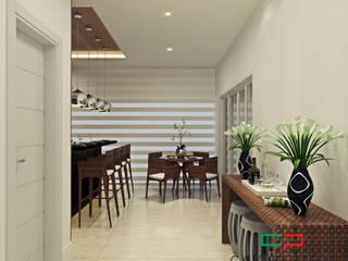 projeto de decoracao de interiores: Salas de jantar modernas por Caio Pelisson - Arquitetura e Design