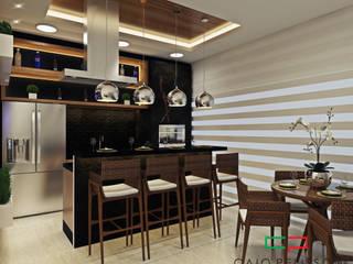 projeto de decoracao de interiores: Salas de jantar  por Caio Pelisson - Arquitetura e Design