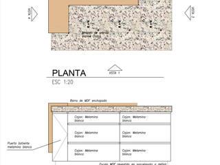 ISLA DE COCINA:  de estilo  por PIC Arquitectura