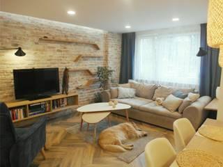 ausgefallene Wohnzimmer von NaNovo