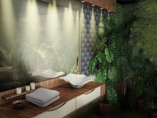 "Washbasin ""Lotus"": modern  by Input-A,Modern"