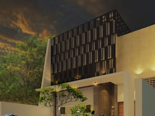 Facade:  Ruang Komersial by MY Studio