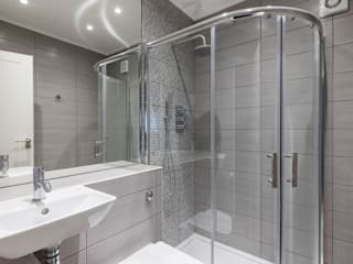 Croydon Whole House Renovation Modern style bathrooms by Model Projects Ltd Modern