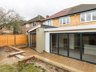 Croydon Whole House Renovation Modern houses by Model Projects Ltd Modern