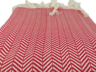 Plaid oriental rouge KaravaneSerail SalonAccessoires & décorations Coton Rouge