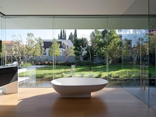 Harmonie entre les éléments naturels Moderner Garten von Ecologic City Garden - Paul Marie Creation Modern