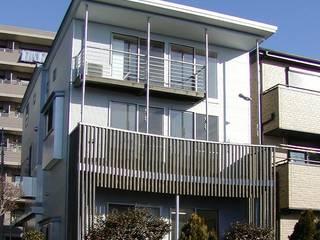 エレベーション: 石井淳アトリエが手掛けた木造住宅です。