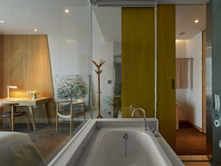 Hotéis asiáticos por 沐光植境設計事業 Asiático