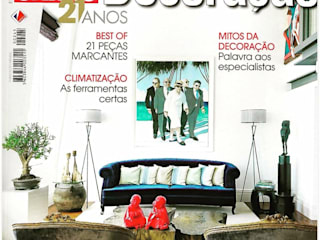 Projeto de Decoração Chiado Salas de estar modernas por Officina Boarotto Moderno