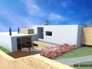 Casa Pinto _ Vessadios, Vila Real: Casas unifamilares  por SFArquitetos,Moderno
