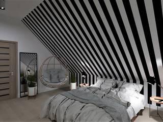 Dormitorios de estilo moderno de Ls Lempart Studio Moderno