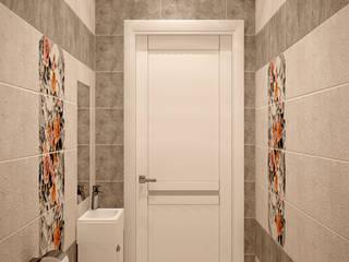 Casas de banho ecléticas por Студия интерьерного дизайна happy.design Industrial