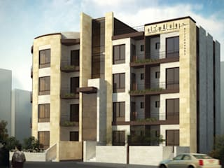 Jarwan Residentail Building - Amman , Jordan Modern Houses by SPACES Architects Planners Engineers Modern