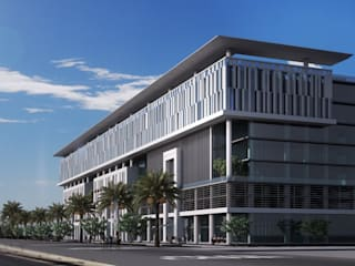 Almurjan Hospital - Jeddah, KSA by SPACES Architects Planners Engineers Modern