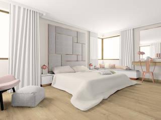 Scandinavian style bedroom by Esteti Design Scandinavian