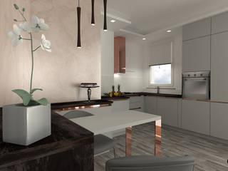 Villa Petra: Cucina in stile  di serenascaioli_progettidinterni