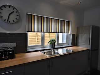 Refurbishment of a Victorian terrace property to be let out as an HMO Cucina moderna di Kerry Holden Interiors Moderno