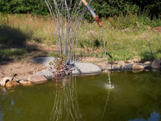 Girouette - Fontaine - Shishi Odoshi Jardin moderne par Artiste Sculpteur Moderne