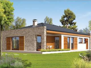 FHS Casas Prefabricadas Rumah prefabrikasi Aluminium/Seng Metallic/Silver