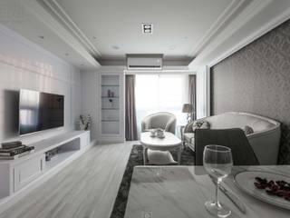 Ruang Keluarga Klasik Oleh 湘頡設計 Klasik