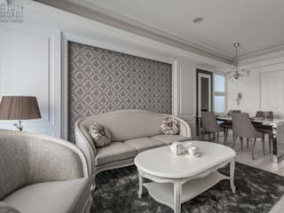 Classic style living room by 湘頡設計 Classic
