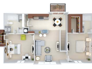 تنفيذ Floor Plan For Real Estate