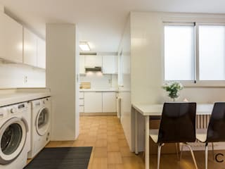 CCVO Design and Staging Modern kitchen White