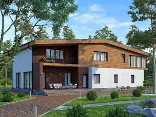 Ольден_491 кв.м: Дома в . Автор – Vesco Construction