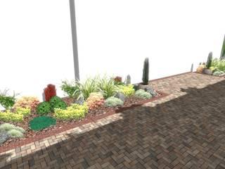 AYTÜL TEMİZ LANDSCAPE DESIGN – MARINA PREMIUM VİLLALARI PEYZAJ PROJESİ // MARINA PREMIUM VILLAS LANDSCAPE PROJECT:  tarz Bahçe