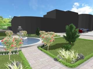 SUSURLUK TİCARET BORSASI PEYZAJ PROJESİ // SUSURLUK TICARET BORSASI LANDSCAPE PROJECT Modern Bahçe AYTÜL TEMİZ LANDSCAPE DESIGN Modern