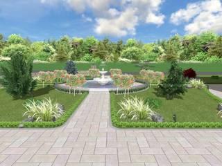 AYTÜL TEMİZ LANDSCAPE DESIGN – SUSURLUK TİCARET BORSASI PEYZAJ PROJESİ // SUSURLUK TICARET BORSASI LANDSCAPE PROJECT:  tarz Bahçe