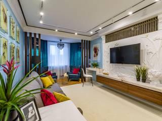 Modern living room by Школа Ремонта Modern